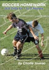 Soccer Homework: Skill Drills for 1 to 3 Players-ExLibrary