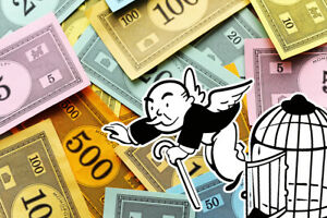 Monopoly Money Up To $10,000 From Various Sets Specific or Random Denominations