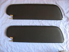 1970- 72  skylark GS coupe single pin sun visors black premiere