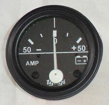 50 0 50 Ampèremètre Voiture Utilitaire Camion 52MM Noir Comparateur Universel