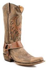 ROPER - Men's Bald Eagle Biker Boots - Brown - ( 09-020-7001-0304 ) - 10D