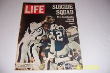 1971 Life Magazine BALTIMORE COLTS Los Angeles Rams NFL's MOST VIOLENT MEN
