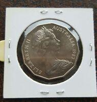 Australian 1982 50 fifty cent Unc coin
