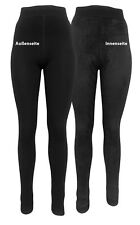 Thermo- Leggings 2er Set - für DRUNTER Ski-Unterwäsche Polarfleece eng anliegend