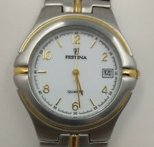 FESTINA Watch Vintage NOS 90's. Steel And Plating