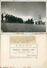 Les chasseurs alpins au col de la Madeleine Vintage silver print Tirage arge