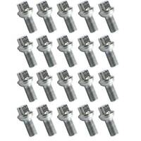 20x Stainless Wheel Lug Bolts Nuts for Mercedes C-CLASS W204 E' W211 S' W221