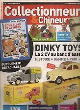 COLLECTIONNEUR & CHINEUR N° 86--2 CV DINKY TOYS/CP BELLE ILE/LE SPORT/
