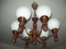6 flammige Lampe Kronleuchter Lüster  Deckenlampe von Schröder und Co. Nr.-13237