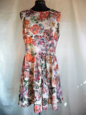 Joe Browns floral boho skater style pull on stretch dress party festival UK 16
