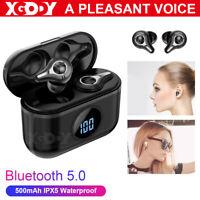 Mini TWS Twin True Wireless Bluetooth 5.0 Sport In-Ear Earphones Headset Earbuds