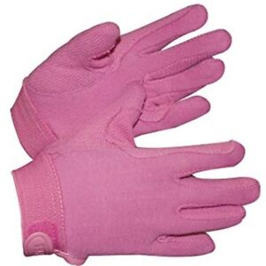 Children's Newbury Pimple Grip Horse Riding Gloves - Pink - Small - Shires