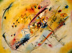Bright Picture Abstract Art 1913 Painting by Wassily Kandinsky Repro FREE S/H