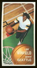 1970 Topps #147 Lee Winfield Rookie Seattle NM centered