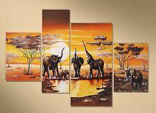 Markenlose Deko-Bilder & -Drucke mit Afrika fürs Wohnzimmer