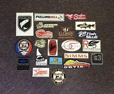 21 Fly Fishing Stickers #21J Scotty Simms Orvis Lamson Umpqua Cheeky Yellow Dog