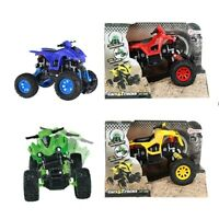 KIDS 4X4 QUAD BIKE WITH SUSPENSION CAR TOY MODEL HIGH QUALITY BUILD
