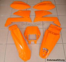 Set plástico JUEGO PLÁSTICO NARANJA PARA KTM LC4 EGS, SXC , SMC de 99 - ENDURO