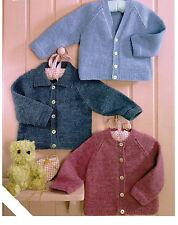 baby boys cardigans 4 ply knitting pattern 38