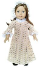 "Doll Clothes AG 18"" Colonial Dress Felicity Garden Fits American Girl Dolls"