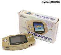 Nintendo GameBoy Advance - Konsole #gold Zelda Look JAP mit OVP