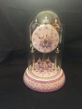 2002 Precious Moments - Porcelain Anniversary Clock - Jesus Loves Me