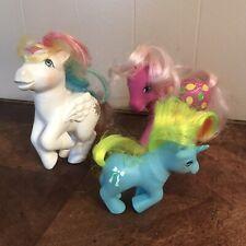 Vintage My Little Pony Hasbro MLP Lot of 3 Ponies