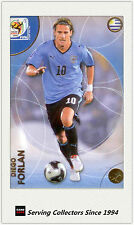 2010 Panini World Cup Soccer Trading Card Common No179 Diego Forlan (Uruguay)