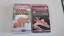 3D Galleta Cortadores, Hipopótamo & Shuttle, Nuevo en Embalaje