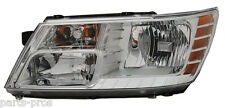 New Replacement Headlight Assembly LH / FOR 2009-2010 DODGE JOURNEY