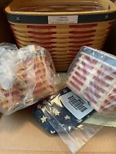 Longaberger 2001 Collectors Club Whistle-Stop Basket Combo Inauguration New