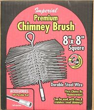 "8"" X 8"" Wire Chimney Brush  New in Box - Made in Canada"