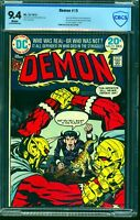 Demon #15 CBCS NM 9.4 White Pages