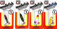 Luhr-Jensen Needlefish Trout Trolling Wobbler #1 - Choice of Color ( One Spoon )