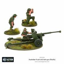 Australian 6-pdr Anti-tank Hun Warlord Games Brand New WGB-403015003