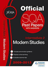 SQA Past Papers 2013 Intermediate 2 Modern Studies, Sqa, Good, Paperback