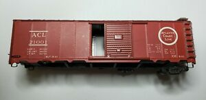 HO Scale ACL boxcar Wood + Metal ACL 21001, Varney #1721, see description