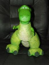 """2009 FISHER PRICE Disney Pixar TOY STORY Roaring REX Dinosaur 14"""" Plush"""