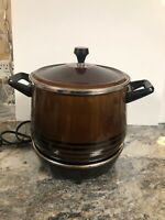 Vintage Westbend Slo-cooker Slow Cooker Lazy Day 5225 6 Quart Base Heat Plate