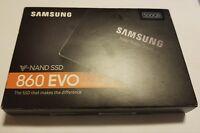 Samsung 860 EVO 500GB 2.5 Inch SATA III Internal SSD (MZ-76E500B/AM) NEW