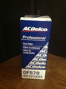 AC DELCO GF578 Fuel Gas Filter for Chevy Cadillac Buick Pontiac Olds GMC Van