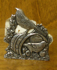 CARSON STATESMETAL BIRDS MINI LITE CANDLE HOLDER, #1384 MADE IN USA
