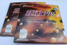 2x Palio HK1997 TENSION 36-41 Tischtennis Beläge, Noppen-inn, NEU