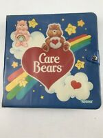 Care Bears Figure Storybook Storage Binder Collector Case Vintage 1980s Kenner