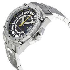Bulova 96B131 Marine Star Precisionist Black Dial Steel Bracelet  Wrist Watch