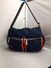 Prada Shoulder Bag 25cm x 38cm x 14cm Medium Blue Orange Casual Women's 281671