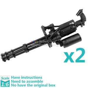 1:6 1/6 Scale M134 Minigun Gatling Machine Gun TERMINATOR Toy Gun Model Gift