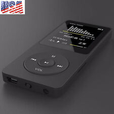 1.8'' TFT Black 16G MP3 HiFi Lossless Sound Music Player FM Recorder TF Card US