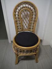 Stuhlkissen rund 40 Ø cm x 4 cm Sitzkissen schwarz, 50% Baumwolle 50% Polyester