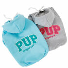 Pet Dog Sweater Hoodie Puppy Clothes Small Jacket Apparel Warm Costume 2 Colors